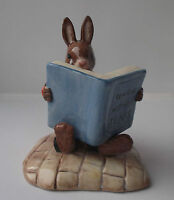 Royal Doulton Bunnykins William Reading Without Tears - New and Boxed