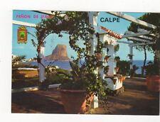 Penon de Ifach Calpe Alicante Postcard Spain 557a