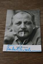 Herbert Fleischmann, ,,,signierte Autogrammkarte 10x15cm,, ,(#A41)