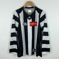 Collingwood Magpies Premiers 2010 AFL Jersey Mens Size M Long Sleeve Adidas
