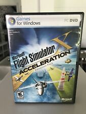Microsoft Flight Simulator X: Acceleration Expansion Pack (PC: Windows, 2007)
