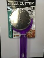 PIZZA CUTTER Stainless Steel HANDY COLORFUL EASY CLEAN GOOD BUY OZ STOCK
