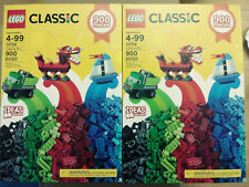 LEGO 10704 - 2 Box of 900 PC LEGO Classic, Total of 1800 Pieces!