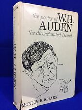 Vtg 60's The Collected Poetry of W H Auden The Disenchanted Island 1963 HB Rare