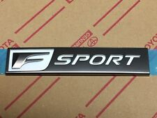 Genuine OEM Lexus F SPORT Rear emblem badge GS200t GS350 GS450h