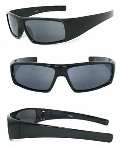 Full Lenses Magnified Tinted Sun Reader Reading Sunglasses Unisex Wrap UV400