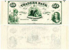 US Virginia Richmond $50 VA195G8 (1860s) Traders Bank **Uncut** UNC