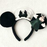 Halloween Minnie Mouse Plush haunted Mansion Headband Tokyo Disney Resort Rare