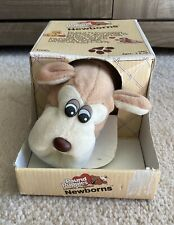 Vintage Pound Puppies Newborns Brown Tan White NIB. 7807 Tonka 1985