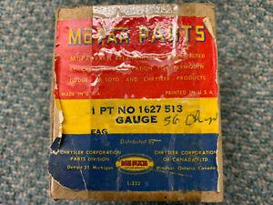 1956 Chrysler, 1956 Imperial NOS TEMPERATURE Gauge, Mopar Part 1627513