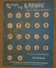 Kount on Kappie Magnets or Miniatures book 44 cross stitch Metta Whitcomb