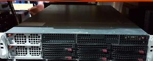 Supermicro 4x E7-4870, 128GB RAM, 6 x 2TB, H8026B-6RF X8QB6-F like R820 DL580 G7