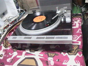 Denon DP-47F Turntable Direct Drive Fully Automatic Turntable fully tested USED