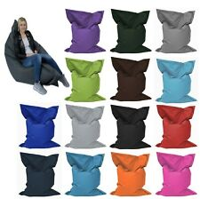 Liege Sitzsack Beanbag Indoor & Outdoor 18 Farben Kinder Sitzkissen Erwachsene