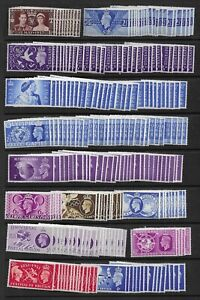 Collection of approx 230 UNMOUNTED MINT GVI stamps.