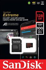 SANDISK 128Go EXTREME CLASS 10 UHS-I U3 A1 100Mo/S MICRO SDXC SD XC MEMORY CARD