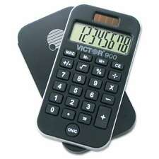 Victor® 900 Antimicrobial Pocket Calculator, 8-Digit LCD 014751009007