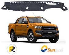 Dash Mat Sunland Charcoal for Ford Ranger PX2 2015+ Wildtrak F7606