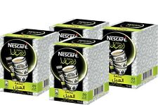4 Full Boxes 80 Sticks Nescafe Arabiana Instant Arabic Coffee with Cardamom