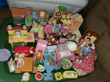 Fisher Price Loving Family Dollhouse People Bathroom Kitchen Bedroom & more Lot