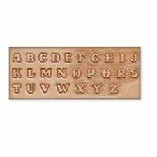 "1/2"" Alphabet Craftaid Tandy Leather 72690-00"