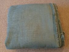 John Lewis Burly Furnishing Fabric Bright Fir (light Blue) One 5m Piece.