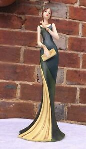 Juliana Art Deco Broadway Belles  Lady Figurine Ornament . 30cm. Tall..