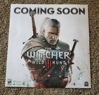 The Witcher 3: Wild Hunt Video Game Poster