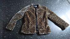 SOUTH Faux Fur Animal Leopard Jacket 8