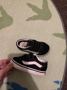 Toddler Vans Size 5.5