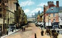 OLD PHOTO Northamptonshire The Drapery Northampton England Circa 1910