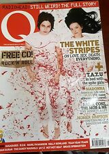 Q MAGAZINE JUNE 2003 - THE WHITE STRIPES- TATU- RADIOHEAD
