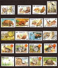 Cambodia all Animals Préhistoriques, Wild and Domestic 82M-D114