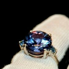 4.94 +CT WOMAN S RING.RUSSIAN WELL TEST REAL LAB  ALEXANDRITE  COLOR CHANGE