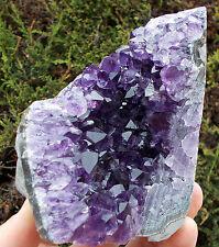 A-Grade Cut-Base Uruguayan Amethyst Druze Crystal Cluster. Ref:D.CA1 crystals