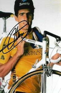 MIGUEL INDURAIN, Hand-Signed Cycling Autograph, Photo 10x15cm