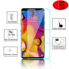 For LG V40 V60 ThinQ Real Premium Tempered HD Glass Screen Protector Film Clear