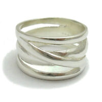 STERLING SILVER RING SOLID 925 PLAIN BAND NEW SIZE J - Z EMPRESS