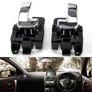 For Nissan Dualis J10 2007-2014 Left Right Front Rear Inner Interior Door Handle