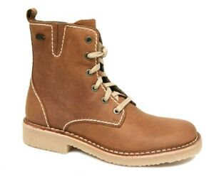 camel active HAVANNA Boots Damen Soft Crazy Horse brandy braun Leder 8777201 NEU