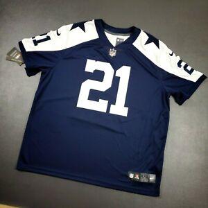 100% Authentic Ezekiel Elliott Nike Cowboys Vapor Limited Jersey Size 2XL 52