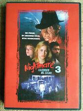 Nightmare 3 I guerrieri del sogno - regia Chuck Russell dvd come nuovo