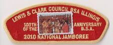 BSA, Lewis & Clark Council Illinois IL, 2010 National Jamboree, Red Bckd JSP CSP