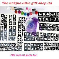 Girls GLITTER TATTOO KIT 120