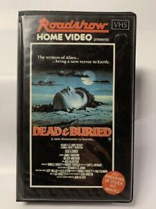 DEAD AND BURIED rare Australian Roadshow VHS Video cult 80s horror movie