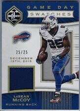 2017 Panini Limited Game Used Relic #GDS-LM LeSean McCoy SER #25/25 Bills, Look!