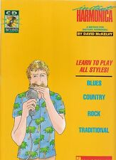 David McKelvy: Instant Harmonica, learn to play all styles! pour Harmonica