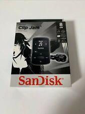 Sandisk 8GB Clip Jam MP3 Player Black