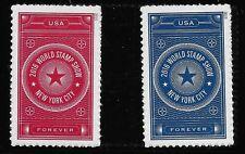 US Scott #5010-11, Singles 2015 World Stamp Show VF MNH