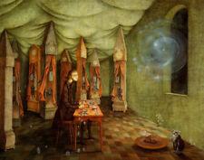 Remedios Varo The Clockmaker Canvas Print 16 x 20    #3464